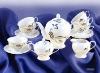 elegant ceramic tea&coffee set