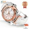 trendy rose gold case young ladies alloy watches 2012