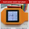 1.5 inch 6th generation touch screen watch mp4 player,pedometer