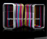 Hot!!!!!!Aluminum bumper case for iphone 5