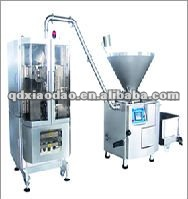 Vacuum dough mixing and kneader machine, bone separator >> Stuffer for thick material/Filler for Stuf