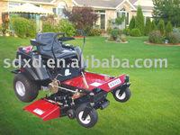 0 turn radius lawn mower