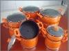 Yong Kang aluminum colorful steamer pot set