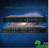 4 RF in 4 TS out free to air hd internet digital receiver