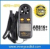 High Quality Band Pocket Wind Speed Gauge Anemometer Thermometer,AR816