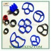 Silicone rubber toilet seal ring industrial, ISO9001-2008 TS16949