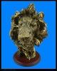 Antique imitation resin head sculpture