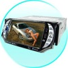 5 Inch TFT LCD Screen Car DVD Player with TV + Bluetooth + AM/FM