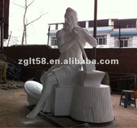 Brand image statue sculpture blacksmith