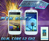 4.6 inch i9377 smartphone dual sim cards dual core dual standby 1.2GHz dual camera Android 4.1