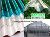 China high heat insulation Bayer and GE Extrusion polycarbonate solid roofing sheet for constuction