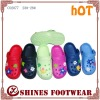 cute kids eva clogs shoes with charm