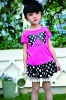 Top brand t-shirts for girls, kids clothing wholesale