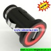 Sinoela Universal hard-wired 5V 2A car charger with female usb plug for iPad and iPod