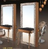 2012 New style salon styling mirror with lamp hb-j102