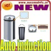 Solar Powered Automatic Trash Bins