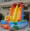 slide/chirstmas castle/EN71 snowman slide/EN14960 inflatable/2012 CE New design hot sale popular inflatable slide