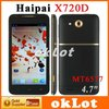 4.7 inch haipai X720D 3G smart phone Android 4.0 MTK 6577 1GHz 4GB Dual SIM WCDMA
