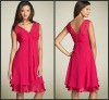 V-Neck CD-190 Sweetheart Chiffon Party Dress