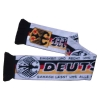100% acrylic jacquard soccer scarf