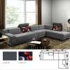 2012 italy design classical sofa set