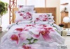 100% cotton flat screen reactive printing bedding sets