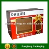 window corrugated paper box