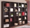 Melamine chipboard bookshelf
