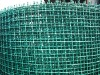 PVC-crimpled wire mesh