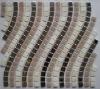 Beautiful,elegant new mosaic,tile mosaic,marble mosaic,glass mosaic,metal mosaic,Wave 1 Gloss