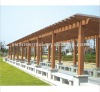 Outdoor Pergola Flooring With FSC ,CE ,SGS