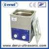 Derui Dental Ultrasonic Cleaner with Digital timer DR-MH20 2L Stainless Steel