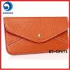 fashion pu envelope wallet ladies / designer wallet case