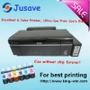 Brand new chipless 6 color printer with pre-installed ciss for Epson T50 R290 A50 T60
