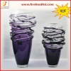 hotel glass vase