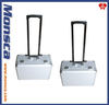 Aluminum trolley cd case