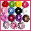 Decorative Flower For Dresses / wholesale Cheap Artificial Flower Head / Head Piece / Silk flower for Flower Headband