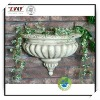 8.5 Inches Polyresin Classical Outdoor Wall Planter