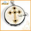 fashion diamond cross metal key chain watches (T00056)