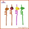 Plastic Actistic Drinking Straw