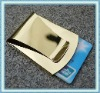 Novelty mens customized money clip credit card holders