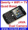Hot Blackberry Mobile Phone blackberry 9000 (w9000) WIFI TV Phone with Track Ball