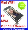 Mini F008 Mini Wifi TV Phone Quad Band