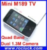Mini M189 TV Mini TV Mobile Phone Quad Band