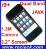 i9+ Quad Band Dual SIM Cellular Phone with JAVA and Camera