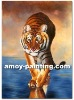 Wild Animal Oil Painting-Tigger001