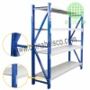 Warehouse rack ,this design is for medium rack,Per layer load 300KG
