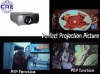 HDMI LCD Projector (Support 1080P, PIP &POP)