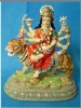 Polyresin India durga statue,polyresin religious crafts,Hindu god statue,home decoration