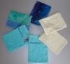 100% cotton, toweling bath glove, terry or velvet